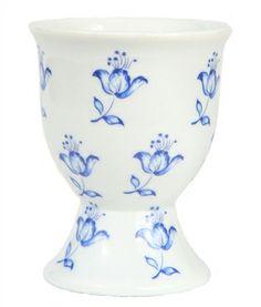Blue Delft Floral Egg Cups (Set of 4) #eggcup