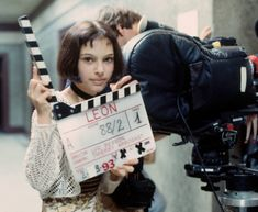 """cynema: """"Behind the scenes of Leon: The Professional (1994) dir. Luc Besson """""""