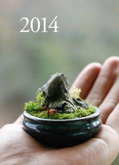 苔猿の壺 Kokesaru