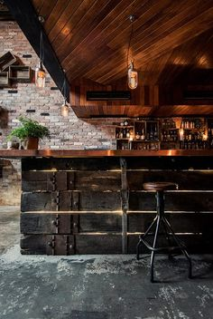 Love the bar and stools