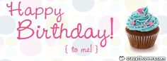 Happy Birthday To Me Cupcake Facebook Cover Facebook Timeline Cover