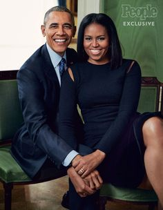 """President Barack Obama and First Lady Michelle Obama looking so GORGEOUS in People Magazine. 8 years of flawlessness! Mode Michelle Obama, Michelle Und Barack Obama, Michelle Obama Fashion, Barack Obama Family, Obamas Family, First Black President, Mr President, Joe Biden, Durham"