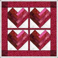 40 + FREE Paper Piecing Patterns #craft #diy #paper