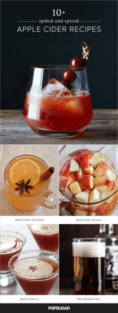 Like cozy knit sweaters and leaf peeping, few things feel more autumnal than spiced cider. Add a splash (or glug) of a chest-warming spirit like bourbon, rum, or vodka and it's pretty much the perfect thing to cozy up with. We found 11 tempting twists; try them all for a fun Fall challenge.