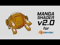Manga Shader for Blender released - CGPress Blender 3d, Cinema 4d Tutorial, 3d Tutorial, Blender Tutorial, Tech Art, Video Game Development, Modelos 3d, Modeling Tips, Animation Reference