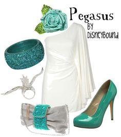 Disney inspired outfit - Pegasus from the Disney film Hercules Disney Bound Outfits, Disney Dresses, Disney Clothes, Cosplay Informal, Disney Inspired Fashion, Disney Fashion, Estilo Disney, Character Inspired Outfits, Casual Cosplay