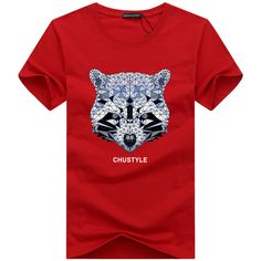>> Click to Buy << 2016 summer Men's Bear Head printed o-neck plus size tees T-shirts womens short-sleeve t shirt Male Increase code shirts 4XL 5XL #Affiliate