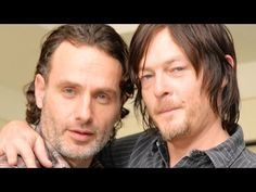 LONDON - Andrew Lincoln Walking Dead Interview - Andrew Lincoln & Norman Reedus Share Hilarious Episodes On Set - YouTube