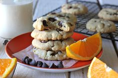 Orange Chocolate Chip Cookies - Damn Delicious