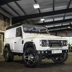 #LandRover Defender : Chelsea Truck Co. by A Kahn Design #chelseatractor