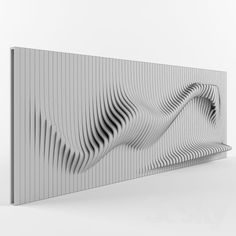 models: Other decorative objects - Parametric Wall Parametrisches Design, Deco Design, Wall Design, Parametric Architecture, Parametric Design, Architecture Design, Architecture Diagrams, Architecture Portfolio, Wooden Wall Art