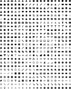 A set of 500 minimalistic, ultra-consistent, legible and solid icons that you can use in your iOS apps, websites and other design projects.