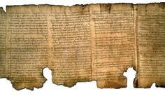 The great Isaiah Scroll! the oldest manuscript we have of the Bible. Discovered in the Caves of qumran in 1947.