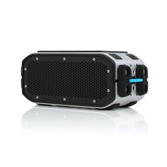 This futuristic looking bluetooth speaker has full sound and bass which is powerful enough to fill indoor and outdoor spaces easily, which makes it ideal for hikes, camping or extreme sports. Will produce crystal clear sound no matter what you are doing.