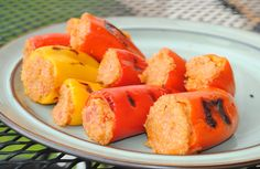 Stuffed Mini Bell Peppers: 2 Ways @fitfoodie_lee #fitfluential
