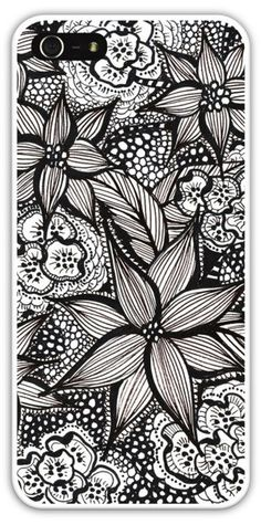 A light weight, one-piece, plastic hard case with a slim profile for the iPhone 5s Made from a one of my original drawings.