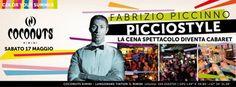 Dj Fabrizio Piccinno ti aspetta al Coconuts Rimini per una serata cabaret.