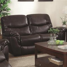 Shop Partridge Transitional Brown Pu Love Seat w/Padded Armrests with great price, The Classy Home Furniture has the best selection of to choose from Loveseats, Partridge, Recliner, Home Furniture, Table Settings, Cushions, Couch, Chair, Brown