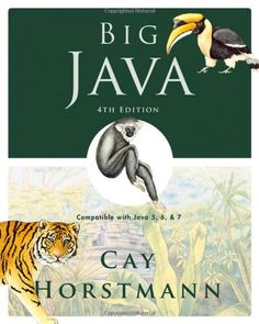 Big Java: Compatible with Java 5, 6 and 7