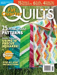 Quilters Newsletter presents Best Fat Quarter Quilts 2014