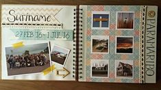 #Scrapbook #Suriname #Pictures #Paramaribo #Journey #Travel #Paper #Handlettering #Photoalbum #  Suriname Travel Have more information on our Site   https://storelatina.com/suriname/travelling