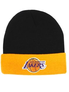 Los Angeles Lakers Beanie Cuffed Knit Hat L.a Lakers Souvenir Lakers Warm  Beanie from  14.95 dbad86b8ac2f4