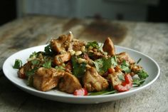 Chicken Satay Stir Fry