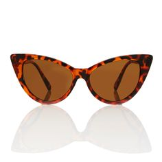 Nicky Tortoise Cat Eye Sunglasses - Brown Lens X American Deadstock OMG Is that #Deadstock? Duh! SHOP #Sunglasses #Tops #Bottoms #Skirts #Bodysuits #Apparel #Accessories & More!