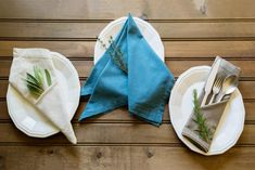 Impress your guests with these fancy folded dinner napkins.