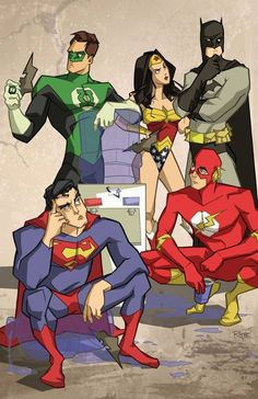 Justice League issues