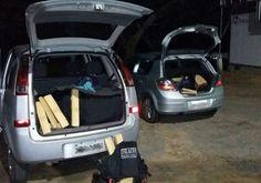 DE OLHO 24HORAS: Após perseguição, dois são presos e 500 kg de maco...
