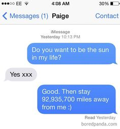 87 Of The Most Brutal Responses To Ex Texts