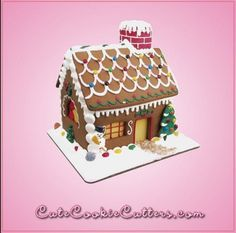 The #GingerbreadHouse Bake Set gives you everything you need, including a recipe and instructions. The house kit includes seven #cookiecutters On sale today 11.10.15 for $7.49