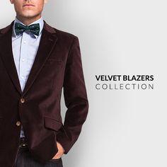 Velvet Blazers Collection by Velvet Blazer, Blazers, Suit Jacket, Menswear, Mens Fashion, Suits, Rock, Jackets, How To Wear