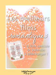 La liste des meilleurs films romantiques (comédies ou pas) à voir ! Profitez de la Saint Valentin pour les regarder mais, pas seulement ! Cliquez pour l'obtenir GRATUITEMENT sur lutetiaflaviae.com !