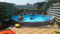 Zwemmen met de baas