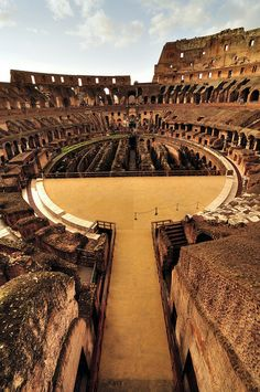 Colosseum, Rome, Italy I cried the first time I saw it - I walked out of the subway at night, and there it was all lit up and beautiful.