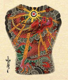 Japanese Dragon Tattoos, Japanese Tattoo Art, Japan Tattoo Design, Oriental Tattoo, Badass Tattoos, Irezumi, Japan Fashion, I Tattoo, Tatoos
