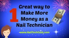 BECOME a Successful Nail Technician! Awesome nail technician marketing tips to make more money | nail salon marketing ideas | beauty marketing | make money