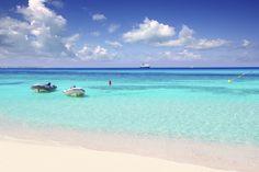 Playa de ses Illetes, Formentera, Spanje