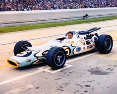 1967 Al Unser Retzloff Chemical (John Mecom) Lola / Ford Indy Car Racing, Indy Cars, Formula 1, Subaru, Indianapolis Motor Speedway, Toyota, Race Engines, Audi, Speed Racer