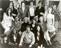 The original cast members from the 1973 The Young and the Restless