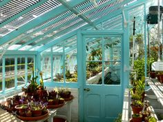 Darwin's greenhouse at Down House