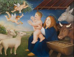 The Nativity | Beryl Cook