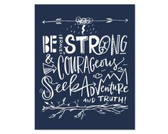 Be Brave Canvas