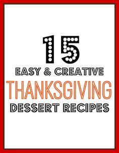 15 Easy Thanksgiving Dessert Ideas | Always Order Dessert