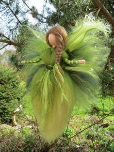 Fairy Crafts, Felt Crafts, Felt Christmas, Christmas Angels, Felt Angel, Needle Felting Tutorials, Felt Fairy, Flower Fairies, Fairy Dolls