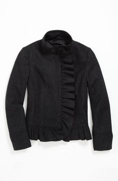 Collection B Ruffle Coat (Big Girls) (Online Only) available at #Nordstrom