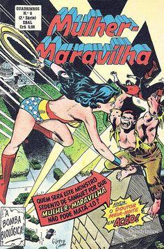 Mulher-Maravilha (Quadrinhos em Formatinho) 2ª Série - n° 6/Ebal | Guia dos Quadrinhos