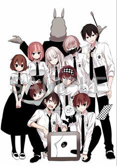 Anime Meme, Manga Anime, Anime Art, Cute Characters, Anime Characters, Kawaii Anime, Anime Classroom, Yumeiro Patissiere, Anime Friendship